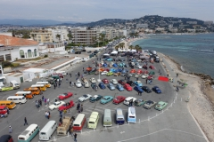 Les Phares Jaunes 1er festival VW cannes